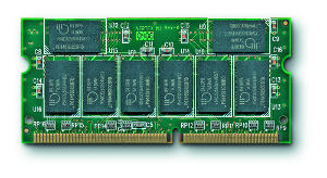 256MB 3V Med PC133 DIMM x64 7.5ns SODIMM 144pin SDR 5000574